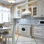 Luxury kitchen interior — Stock Photo #41723757