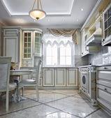Lüks mutfak iç — Stok fotoğraf