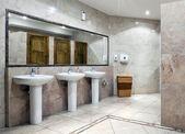 Public restroom interior — Zdjęcie stockowe