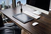 办公室的工作场所 — 图库照片