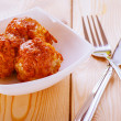 Royalty-Free Stock Photo: Meatballs in white plate