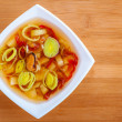 Stock Photo: Thai Tom Yam soup