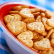 Shallow-shaped cookies - Stock Photo