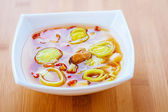 Thai soup Tom Yam — Stock Photo