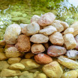 Large pile of stones - Stock Photo