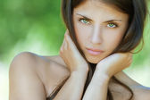Beautiful young woman — Stock Photo