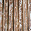 Old bare fence - Stock Photo