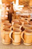 Bast mug — Stock Photo