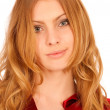 Portrait of charming young woman — Stock Photo #2588104