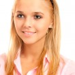 Portrait of fair-haired girl — Stock Photo #2588721