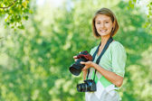 Women photographs — Stock Photo