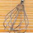 Metal wire whisk — Stock Photo