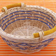Stock Photo: Wicker basket