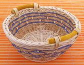 枝編み細工品バスケット — ストック写真