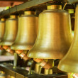 Bronze bells — Stock Photo