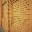 Stock Photo: Wall of orange brick