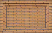 Yellow brickwork — Stock Photo