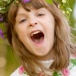 Lovely little baby girl — Stock Photo #2871757