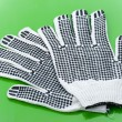 Pair of work gloves — Stock Photo
