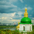 Temple of Kiev-Pechersk Lavra — Stock Photo