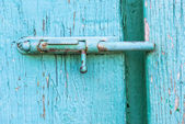 Metal latch — Stock Photo