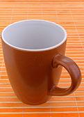 Brown mug — Stock Photo