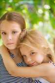 Two sisters — Stock Photo