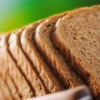 Cut rye bread and knife — Stock Photo #49961751