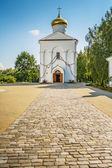 Cathedral Euphrosyne in Polotsk — Stock Photo