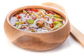 Traditional Thai Tom Yam soup — Stock Photo