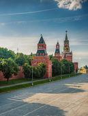 Vasilevsky descent area — Stock Photo