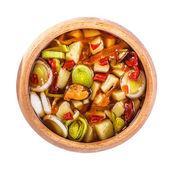 Zuppa di tradizionale tailandese tom yam — Foto Stock