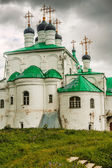 Trinity Cathedral in Alexandrovskaya village — Stock Photo