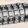 Combination lock for bicycle — Stock Photo #51398007