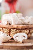Champignon mushrooms — Stock Photo