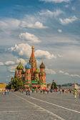 Vasili blazhennogo katedrali — Stok fotoğraf