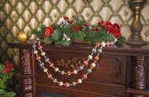 Christmas decoration of the house — Foto Stock