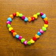 Bright and colourful necklace and beads — Foto de Stock