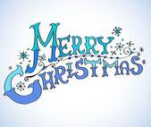 рождественская открытка, веселого рождества надписи — Cтоковый вектор