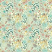 自然のシームレスなパターン — ストックベクタ