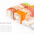 Sushi roll collection — Stock Photo