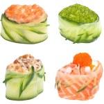 Sushi roll Gunkan set — Stock Photo #14923695
