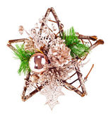 Christmas or New Year decoration — Stock Photo