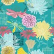 Seamless floral pattern — Stock Vector #18475425