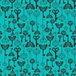 Seamless retro Keys Background — Stock Vector #19179755