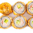 Salmon Fried Sushi — Stock Photo #22012883
