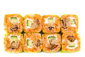 Sushi roll with eel — Stock Photo