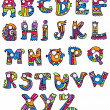 Funny Alphabet — Stock Vector #22461923