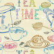 Vintage tea background — Stock Vector #22985496