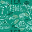 Vintage tea background — Stock Vector #22985562